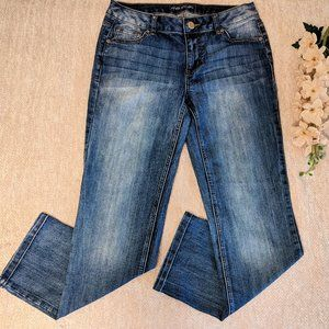 Maurices 10 Short/Petite Med. Wash Jeans Straight